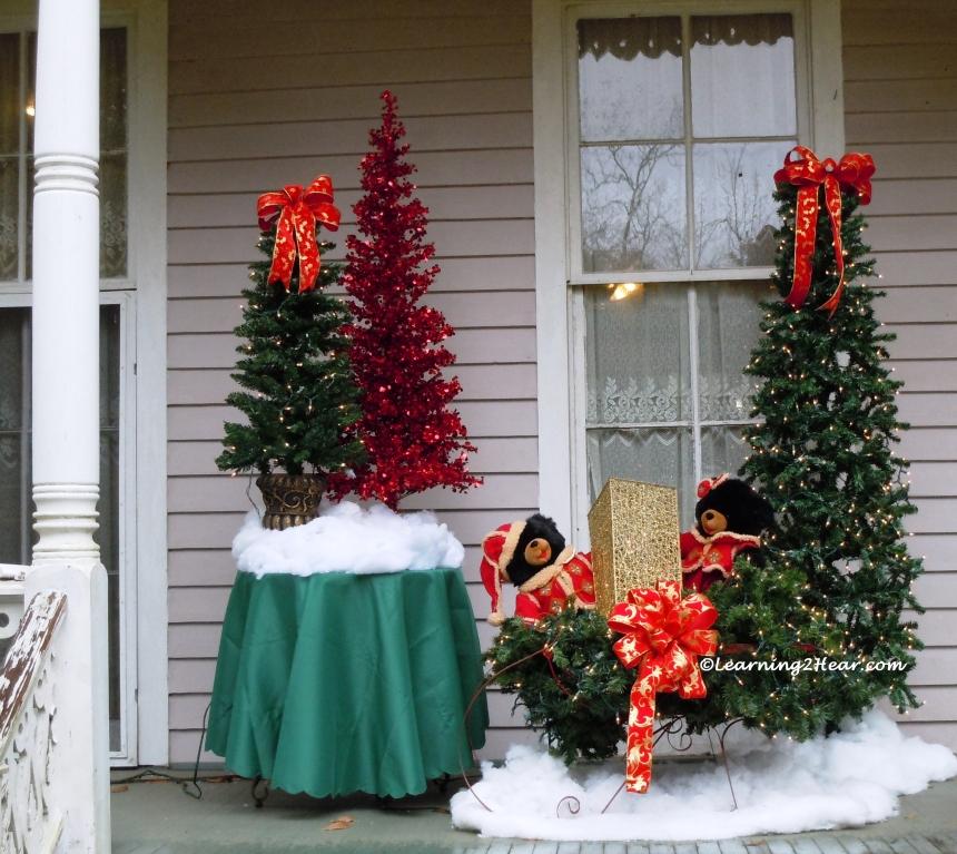 Christmas Porch Window