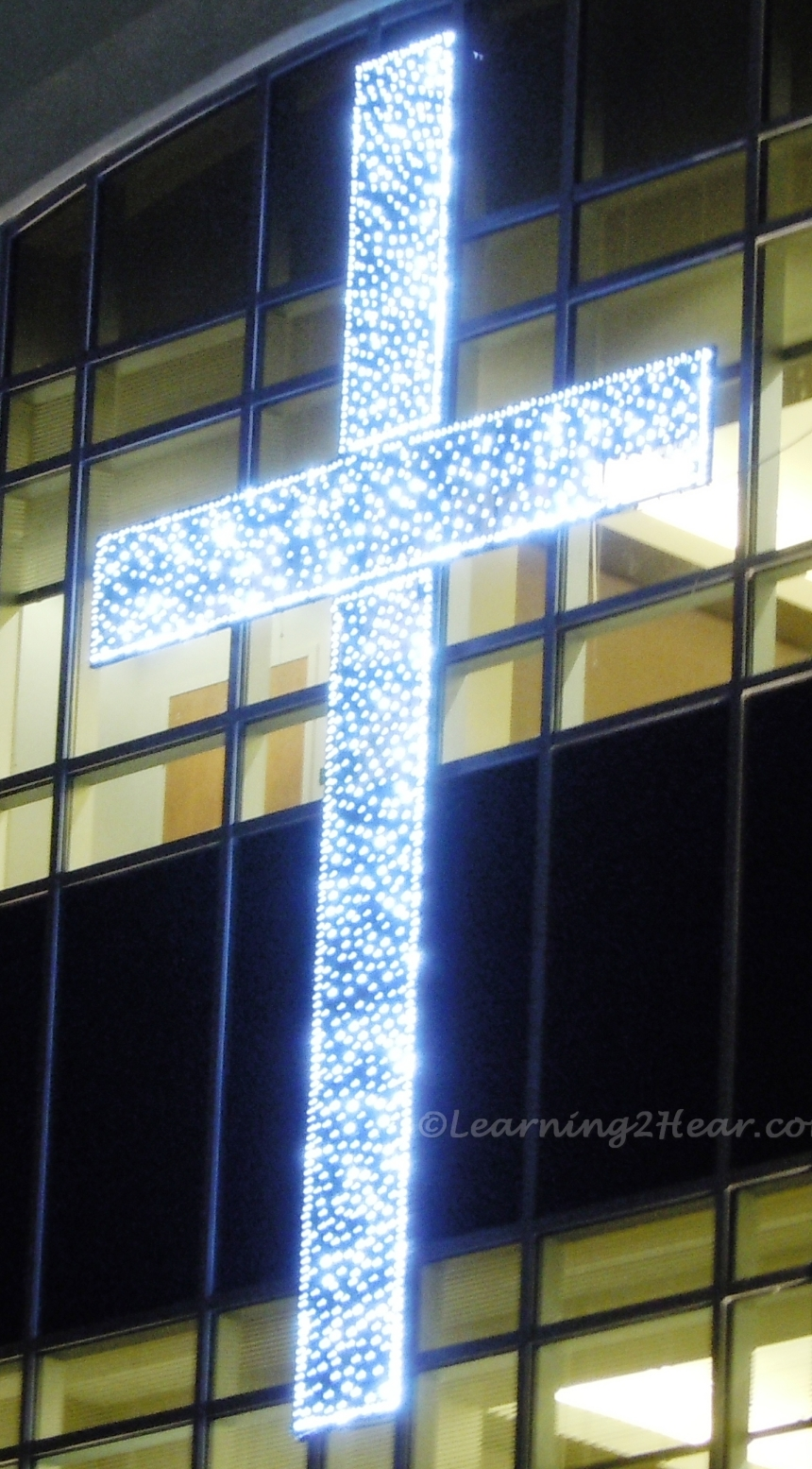 Lighted Cross in Window2